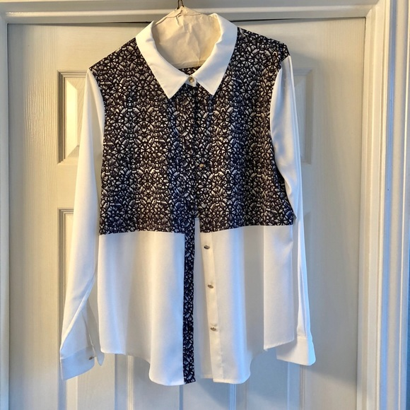 874a7441 Ivanka Trump Tops | Womens Button Down Long Sleeve Shirt | Poshmark